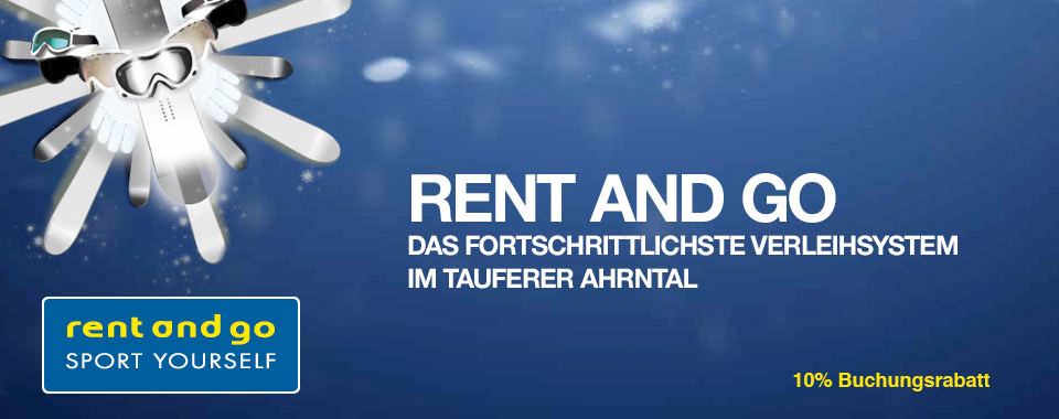 Rent and Go - Skiverleih Sand in Taufers - Tauferer Ahrntal